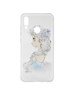 Husa Huawei P Smart (2019) / Honor 10 Lite Disney Silicon Elsa 010 Clear