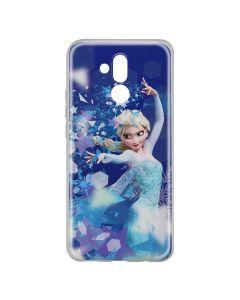 Husa Huawei Mate 20 Lite Disney Silicon Elsa 011 Blue