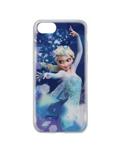 Husa iPhone 8 / 7 / 6 Disney Silicon Elsa 011 Blue