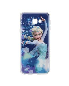 Husa Samsung Galaxy J4 Plus Disney Silicon Elsa 011 Blue