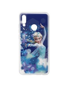 Husa Huawei P Smart (2019) / Honor 10 Lite Disney Silicon Elsa 011 Blue
