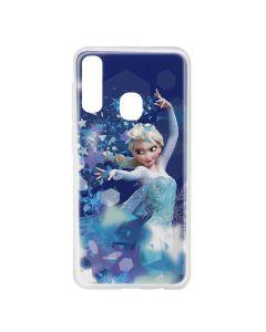 Husa Samsung Galaxy A20e Disney Silicon Elsa 011 Blue