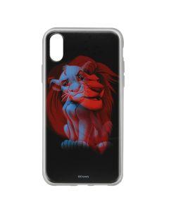 Husa iPhone X Disney Silicon Simba and Friends 001 Black