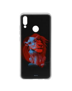Husa Huawei P Smart (2019) / Honor 10 Lite Disney Silicon Simba and Friends 001 Black