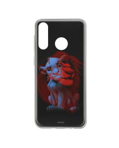 Husa Huawei P30 Lite Disney Silicon Simba and Friends 001 Black