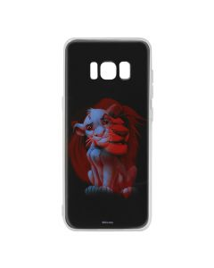 Husa Samsung Galaxy S8 G950 Disney Silicon Simba and Friends 001 Black