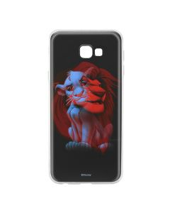 Husa Samsung Galaxy J4 Plus Disney Silicon Simba and Friends 001 Black