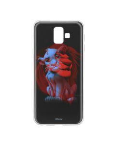 Husa Samsung Galaxy J6 Plus Disney Silicon Simba and Friends 001 Black