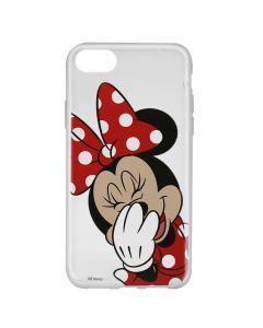 Husa iPhone 8 / 7 / 6 Disney Silicon Minnie 006 Clear
