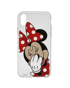 Husa iPhone X Disney Silicon Minnie 006 Clear