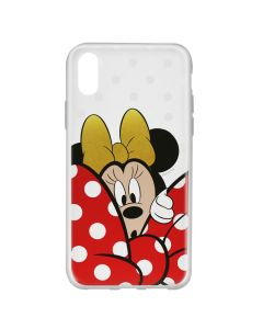Husa iPhone X Disney Silicon Minnie 015 Clear