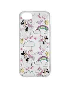 Husa iPhone 8 / 7 / 6 Disney Silicon Minnie 037 Clear