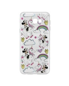 Husa Samsung Galaxy J4 Plus Disney Silicon Minnie 037 Clear