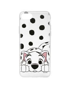 Husa iPhone 8 / 7 / 6 Disney Silicon Dalmatian 004 Clear
