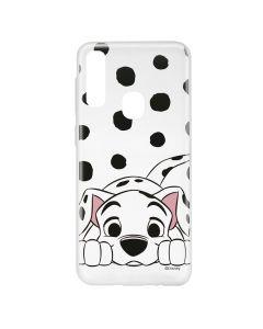 Husa Samsung Galaxy A20e Disney Silicon Dalmatian 004 Clear