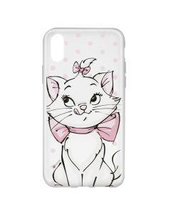 Husa iPhone X Disney Silicon Marie 002 Clear