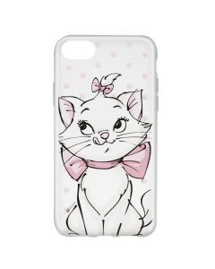 Husa iPhone 8 / 7 / 6 Disney Silicon Marie 002 Clear