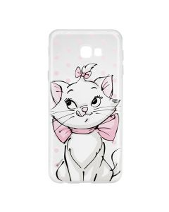 Husa Samsung Galaxy J4 Plus Disney Silicon Marie 002 Clear