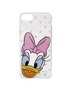 Husa iPhone 8 / 7 / 6 Disney Silicon Daisy 004 Clear