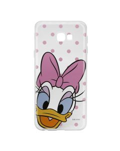 Husa Samsung Galaxy J4 Plus Disney Silicon Daisy 004 Clear