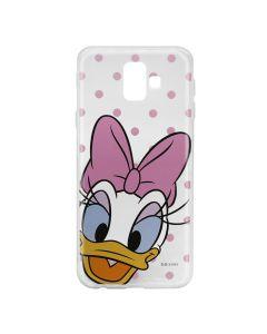 Husa Samsung Galaxy J6 Plus Disney Silicon Daisy 004 Clear