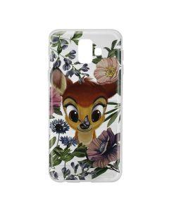 Husa Samsung Galaxy J6 Plus Disney Silicon Bambi 011 Clear