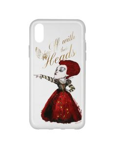 Husa iPhone X Disney Silicon Alice and Friends 002 Clear
