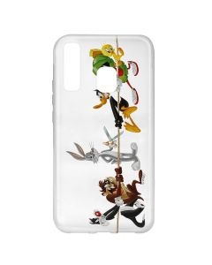 Husa Samsung Galaxy A20e Looney Tunes Silicon Looney Tunes 009 Clear