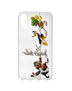 Husa Huawei Y6 2019 Looney Tunes Silicon Looney Tunes 009 Clear