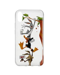 Husa Huawei Y6 2019 Looney Tunes Silicon Looney Tunes 005 Clear