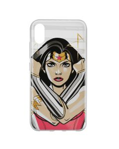 Husa Huawei Y6 2019 DC Comics Silicon Wonder Woman 003 Clear