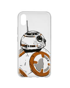 Husa Huawei Y6 2019 Star Wars Silicon BB-8 009 Clear