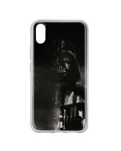 Husa Huawei Y6 2019 Star Wars Silicon Darth Vader 004 Black
