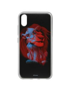 Husa Huawei Y6 2019 Disney Silicon Simba and Friends 001 Black