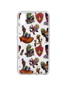 Husa Huawei Y6 2019 Marvel Silicon Guardians of the Galaxy 007 Clear