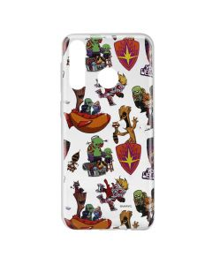Husa Huawei P30 Lite Marvel Silicon Guardians of the Galaxy 007 Clear