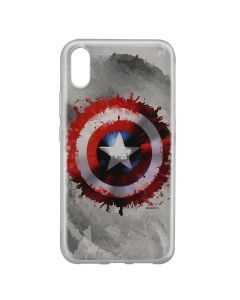 Husa Huawei Y6 2019 Marvel Silicon Captain America 019 Gray