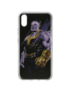 Husa Huawei Y6 2019 Marvel Silicon Thanos 003 Black