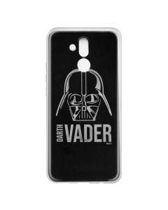Husa Huawei Mate 20 Lite Star Wars Silicon Luxury Darth Vader 010 Silver