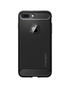 Husa iPhone 8 Plus / 7 Plus Spigen Rugged Armor Black