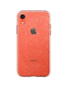 Husa iPhone XR Spigen Liquid Crystal Glitter Crystal Quartz