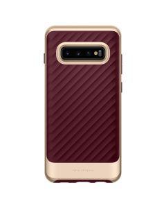 Carcasa Samsung Galaxy S10 Plus G975 Spigen Neo Hybrid Burgundy
