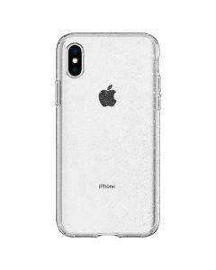 Husa iPhone XS / X Spigen Liquid Crystal Glitter Crystal Quartz