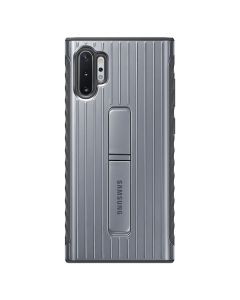Carcasa Samsung Galaxy Note 10 Plus Samsung Protective Standing Silver