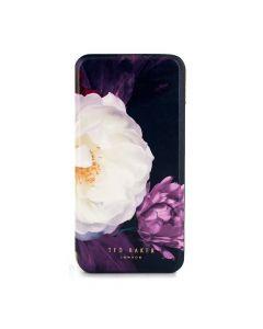 Husa iPhone XS / X Ted Baker Book Folio Mirror Blushing Bouquet
