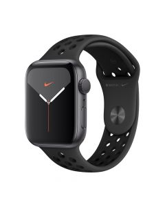 Apple Watch 5 Nike GPS Space Grey Aluminium Case 44mm cu Anthracite/Black Nike Sport Band