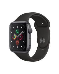Apple Watch 5 GPS Space Grey Aluminium Case 40mm cu Black Sport Band