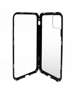 Carcasa iPhone 11 Pro Max Meleovo Magnetica Back Glass Black