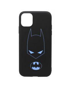 Husa iPhone 11 Lemontti Silicon Soft Art Black Batman