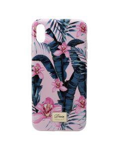 Carcasa iPhone XS Max Devia Perfume Lily Pink